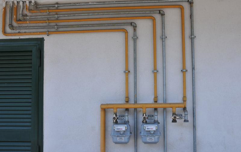 Area tecnica schemi impianti domestici kalorgas - Tubazioni gas metano interrate ...