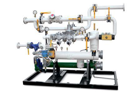 impianto vaporizzazione struttura